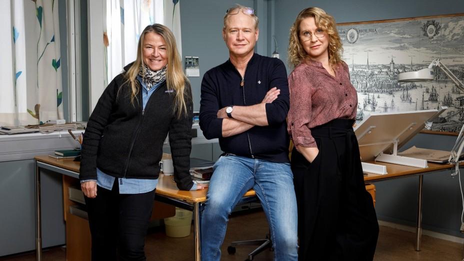 Charlotte Brändström, Robert Gustafsson, Eva Melander