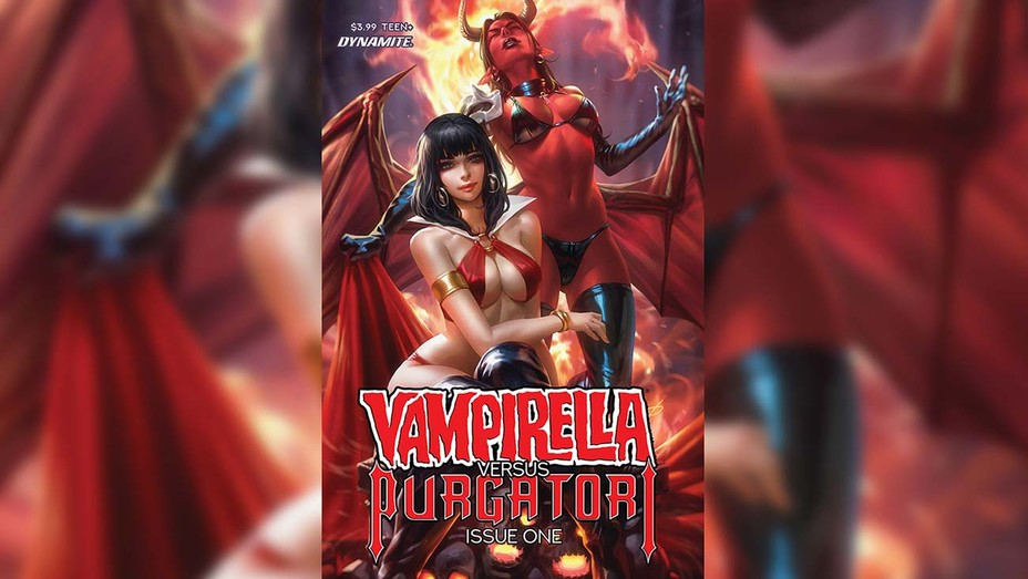 Vampirella Purgatori Preview