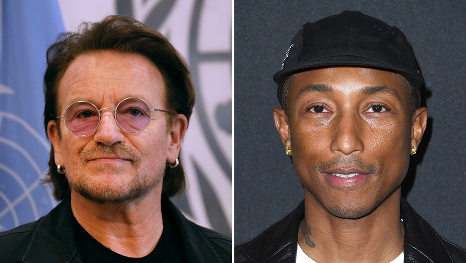 Bono Pharrell Williams