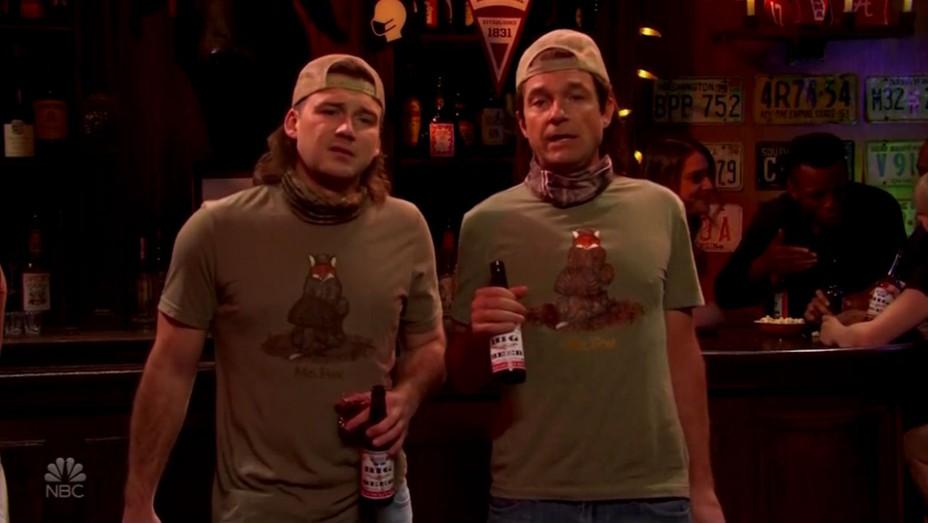 Morgan Wallen, Jason Bateman on 'Saturday Night Live'