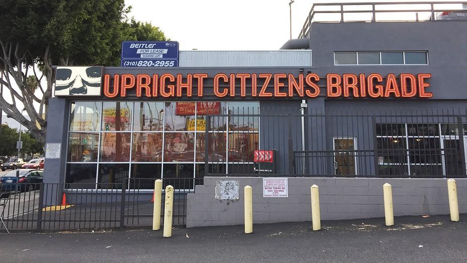 Upright Citizens Brigade building in Los Angeles, California.