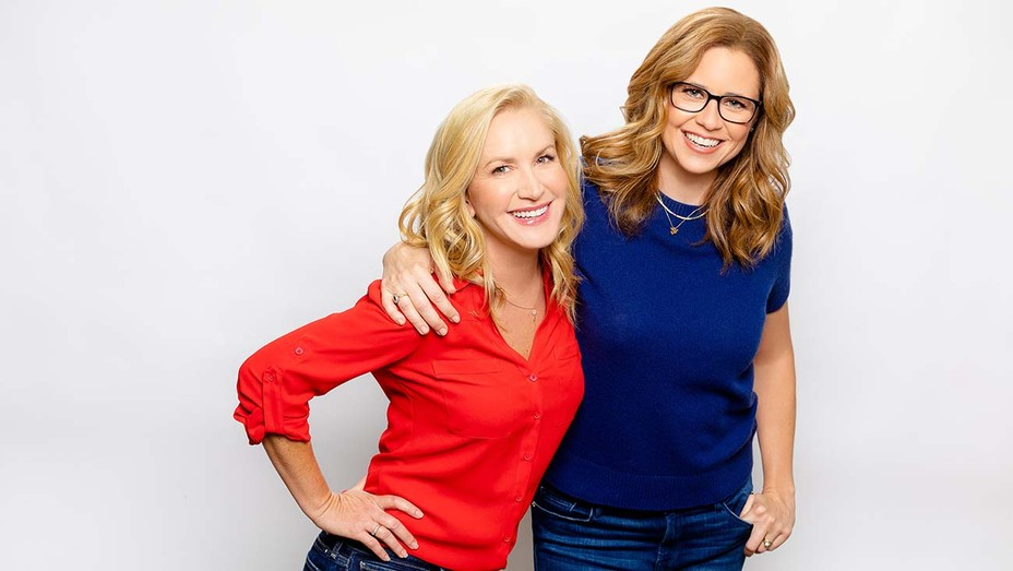 Office Ladies podcast Angela Kinsey and Jenna Fischer