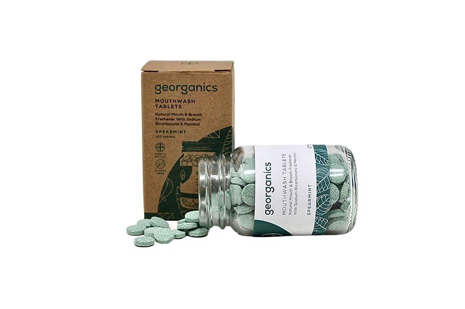 Georganics English Peppermint Mundwasser