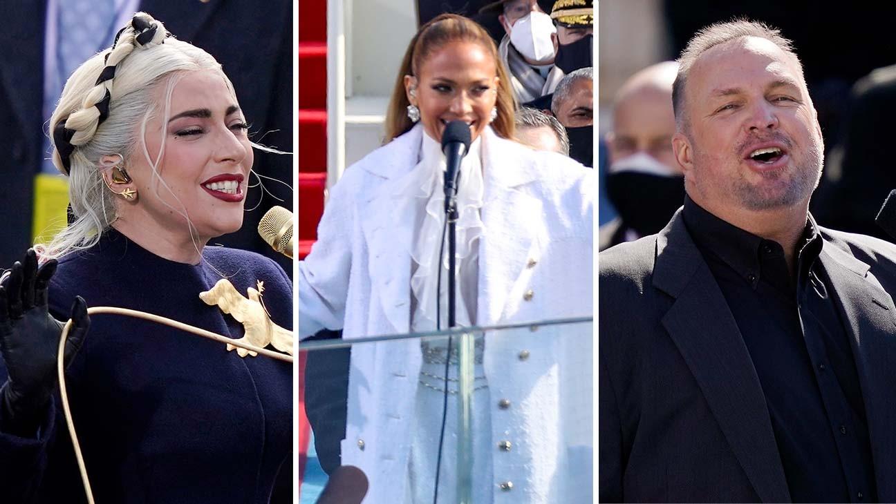 Lady Gaga, Jennifer Lopez and Garth Brooks Bring Star Power to Biden Inauguration