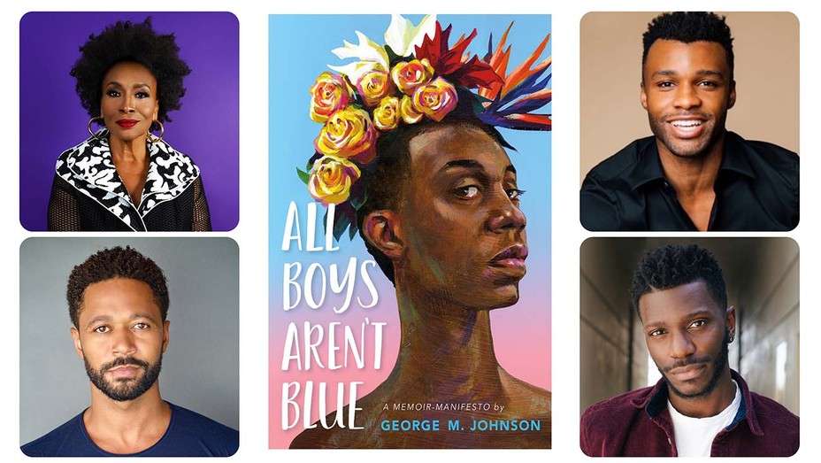 All Boys Are Blue Cover Flyer