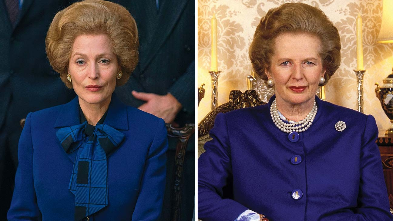'The Crown': Gillian Anderson Reveals How She Transformed Into Margaret Thatcher