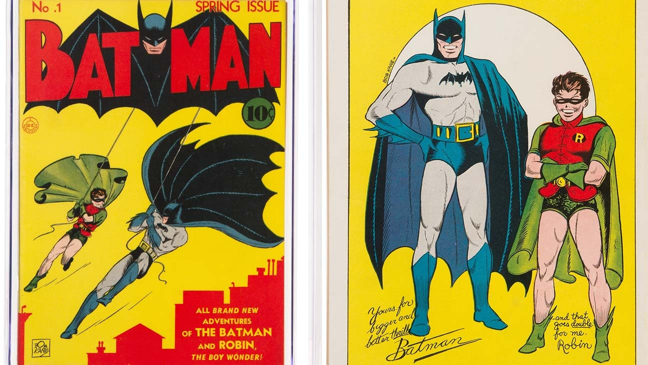 Batman #1 Comic Book Sells for $2.2 Million