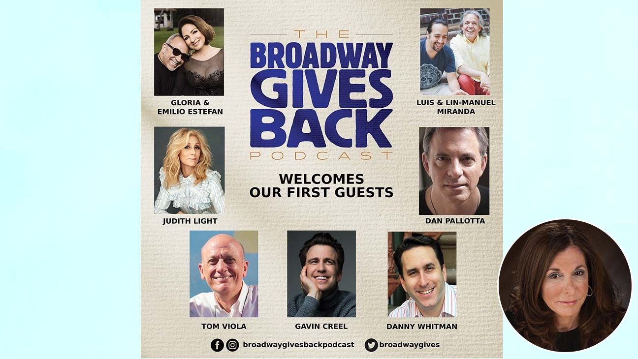 Lin-Manuel Miranda, Gloria Estefan Among First Guest Stars for Newly Launched 'Broadway Gives Back Podcast'