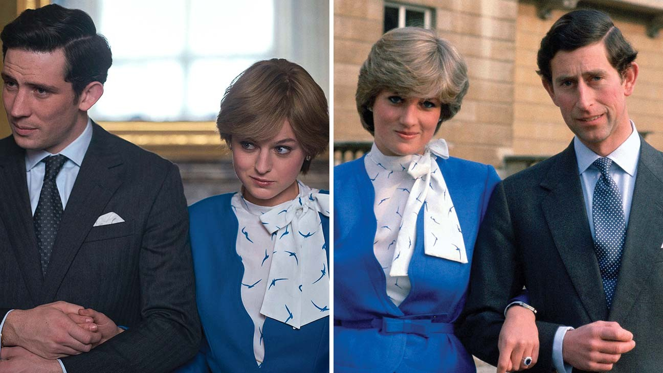 How 'The Crown' Costume Designer Re-created Princess Diana's (and Other Royals') Iconic Looks
