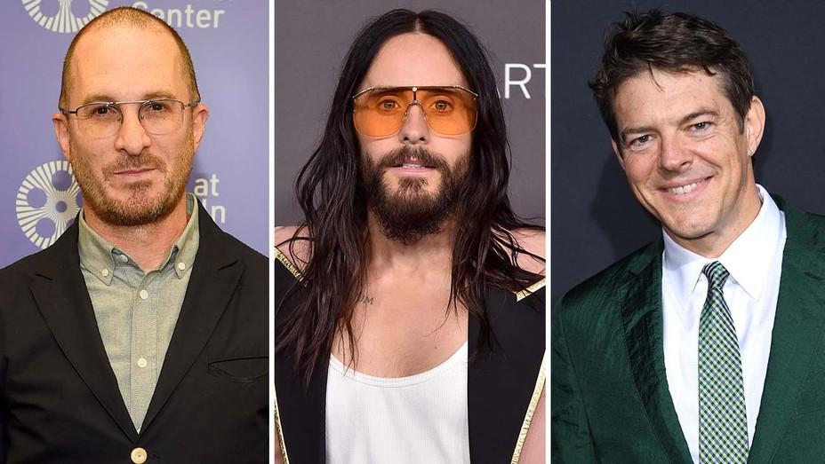 Darren Aronofsky, Jared Leto and Jason Blum