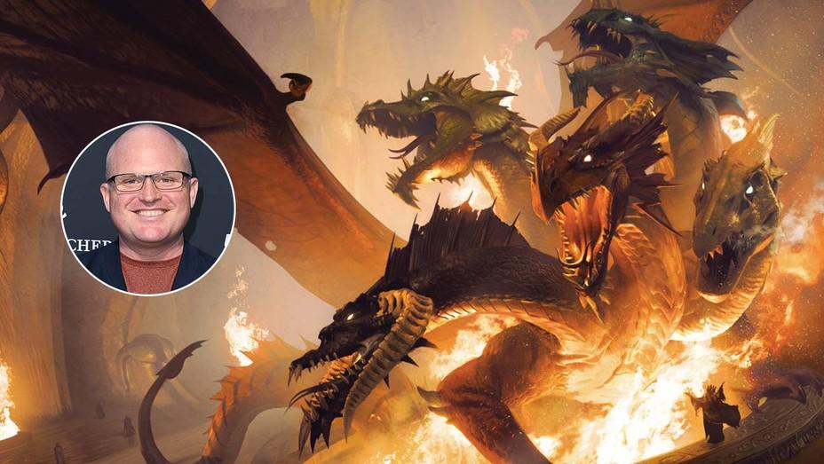 Dungeons & Dragons and inset of Derek Kolstad