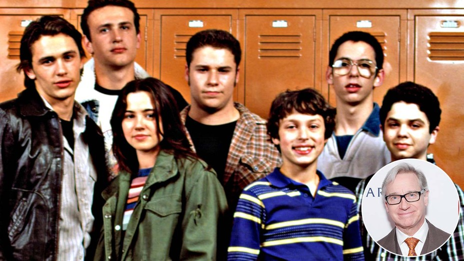 Freaks and Geeks with an inset of Paul Feig