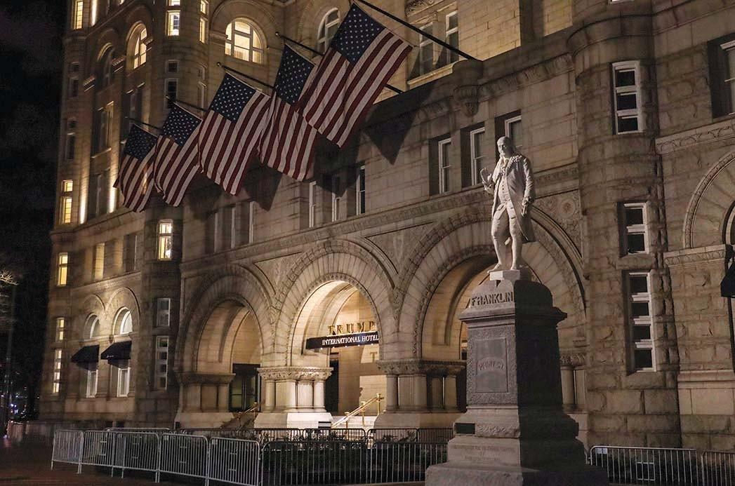Das Trump International Hotel