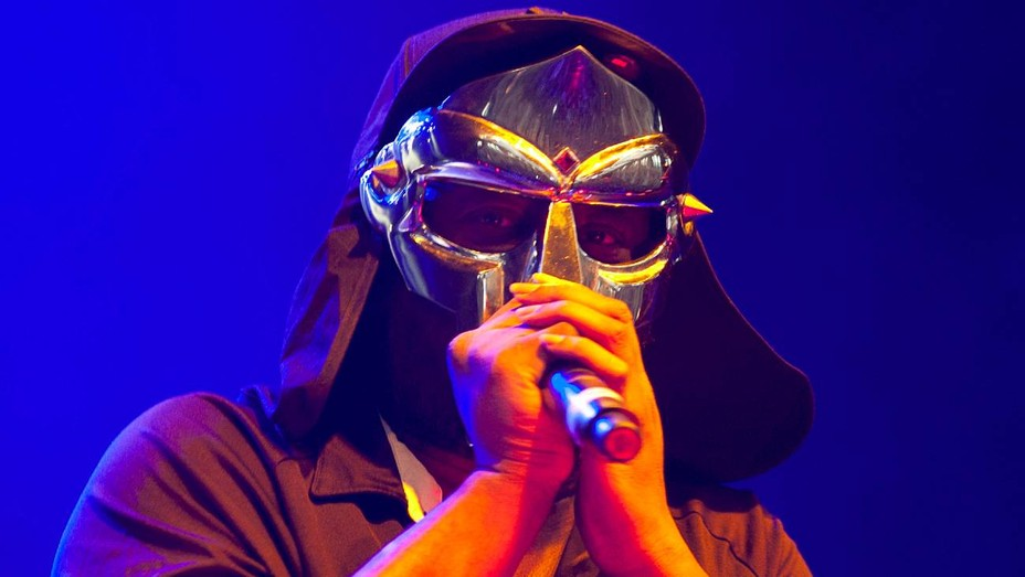MF DOOM performs on day one of 'I'll Be Your Mirror' at Alexandra Palace on July 23, 2011 in London, England.