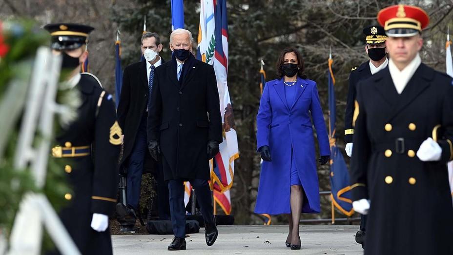 US President Joe Biden and Vice President Kamala Harris