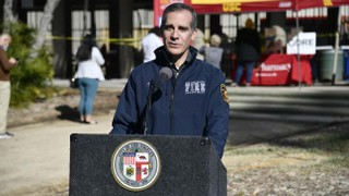 L.A. Mayor Eric Garcetti Expresses Frustration Over Vaccine Rollout as Hollywood Insiders Jet to Florida for Doses