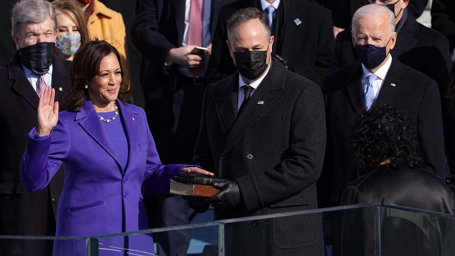 U.S. Capitol Inauguration Ceremony - Kamala Harris