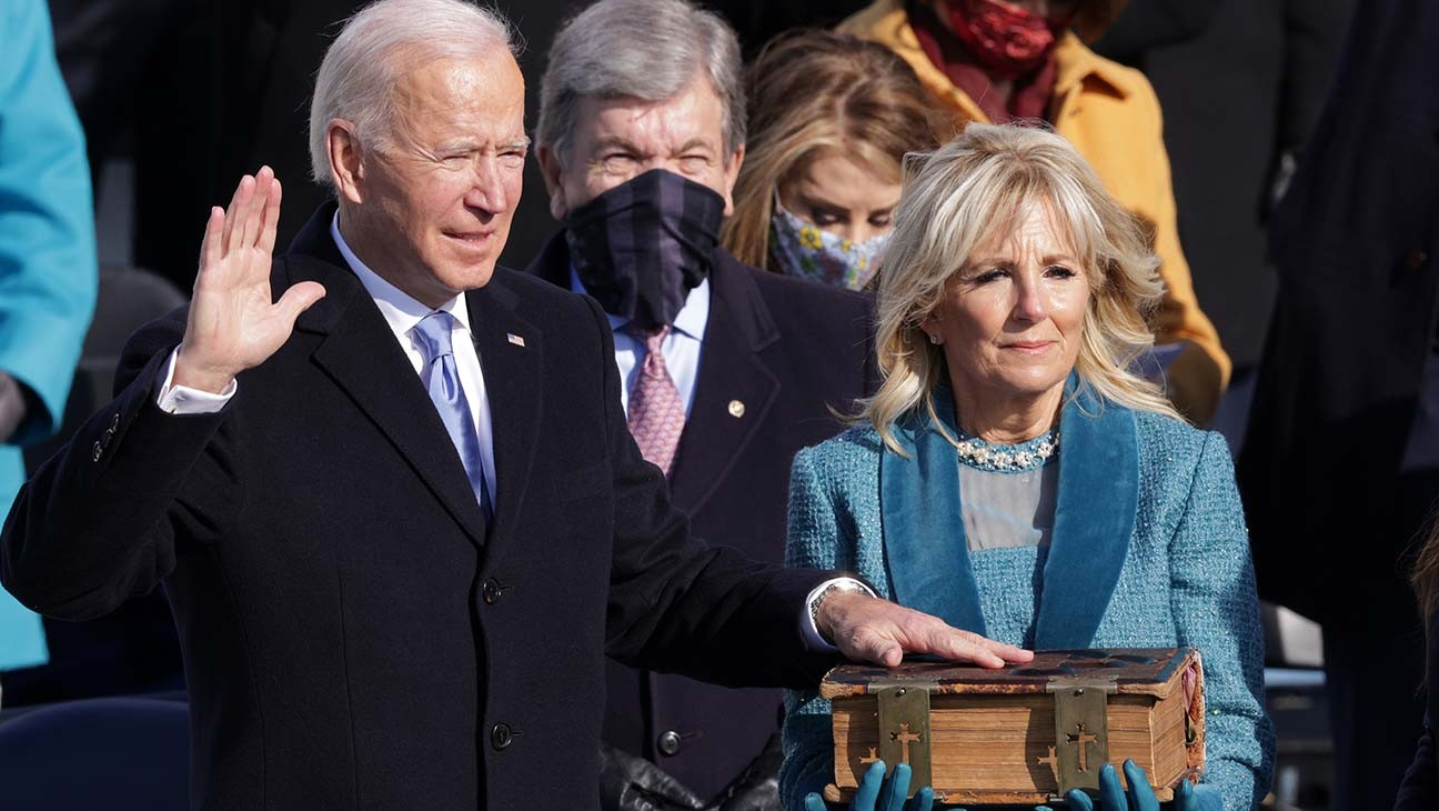 Critic's Notebook: At Joe Biden's Inauguration, Glimmers of Light Drive Out Trumpian Darkness