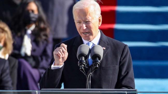 TV News Follows Joe Biden's Optimistic Lead on Inauguration Day