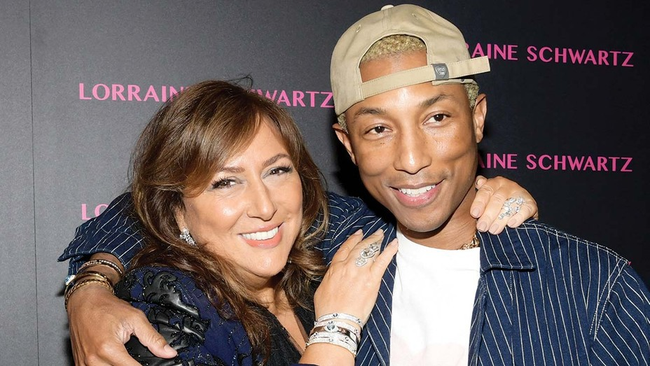 Lorraine Schwartz and Pharrell Williams