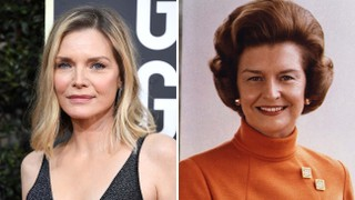 Michelle Pfeiffer to Play Betty Ford in Showtime's 'First Lady'