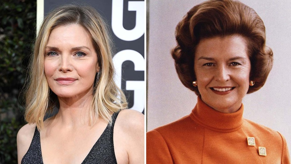 Michelle Pfeiffer Betty Ford