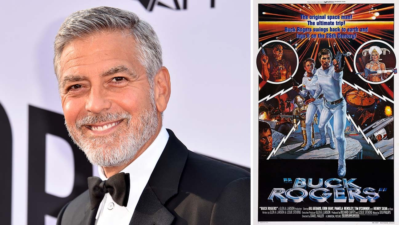 George Clooney Joins 'Buck Rogers' Series for Legendary