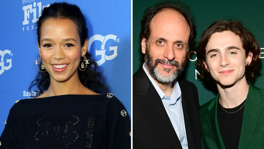 Taylor Russell Timothee Chalamet Luca Guadagnino