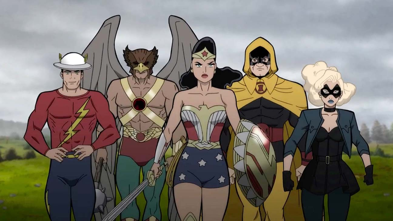 DC's 'Justice Society: World War II' Sets Voice Cast (Exclusive)