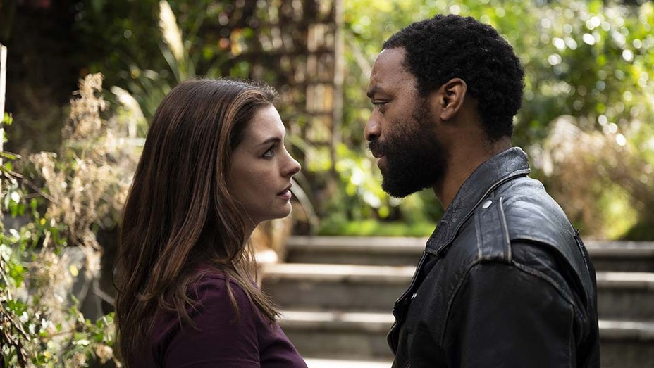 Anne Hathaway and Chiwetel Ejiofor In Lock Down.