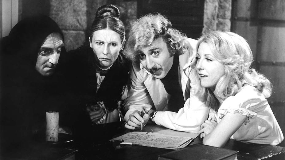 Marty Feldman, Cloris Leachman, Gene Wilder and Teri Garr in 'Young Frankenstein.'