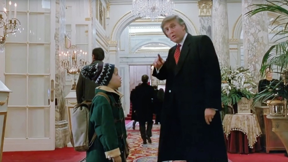 Donald Trump in 'Home Alone 2: Lost in New York'.