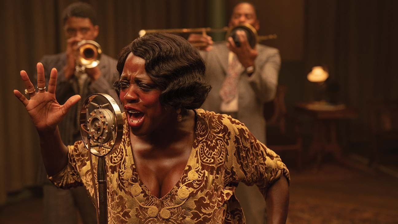"How the Hairstylist and Makeup Artist for 'Ma Rainey's Black Bottom' Refined a ""Homemade, Jittery, Imperfect"" Look for Viola Davis' Portrayal"
