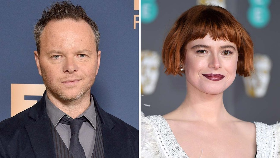 Noah Hawley and Jessie Buckley