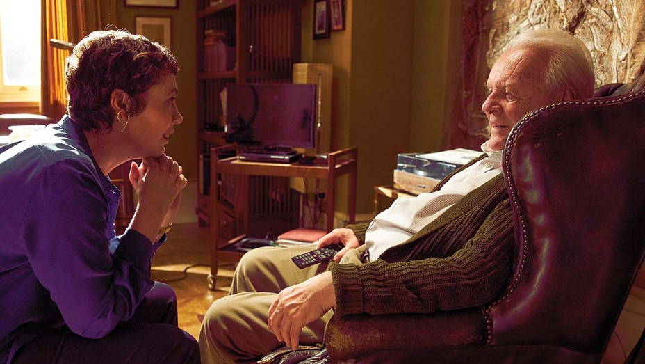 Olivia Colman and Anthony Hopkins in Florian Zeller's 'The Father.'