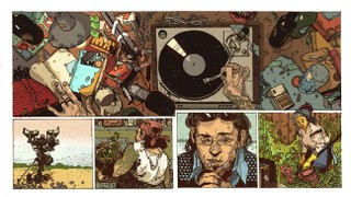 How 'Radio Apocalypse' Combines Music and Comics
