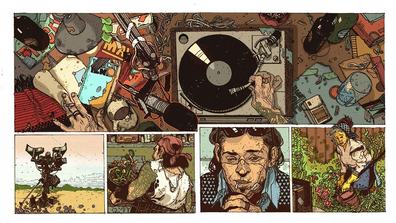 How 'Radio Apocalypse' Combines Music and Comics