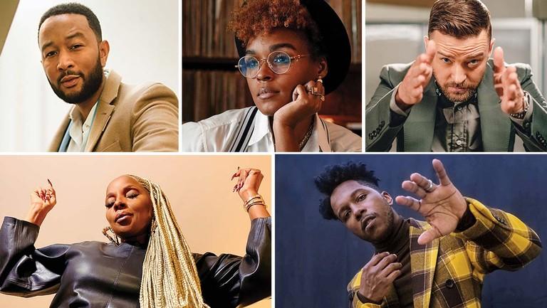Songwriters Roundtable: Mary J. Blige, John Legend, Janelle Monáe, Leslie Odom Jr. and Justin Timberlake Talk Politics, Pandemic and Keeping Hope Alive