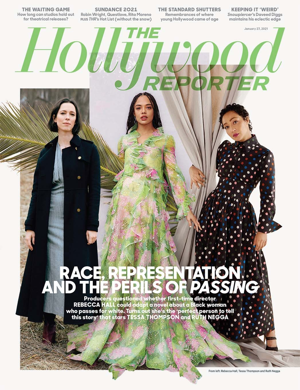 "Tessa Thompson and Ruth Negga's Racial-Identity Movie 'Passing' and Why Rebecca Hall Was the ""Perfect Person"" to Direct"