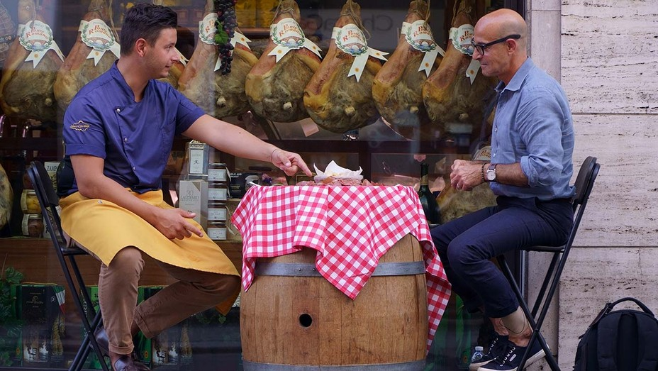 'Searching for Italy' with Stanley Tucci