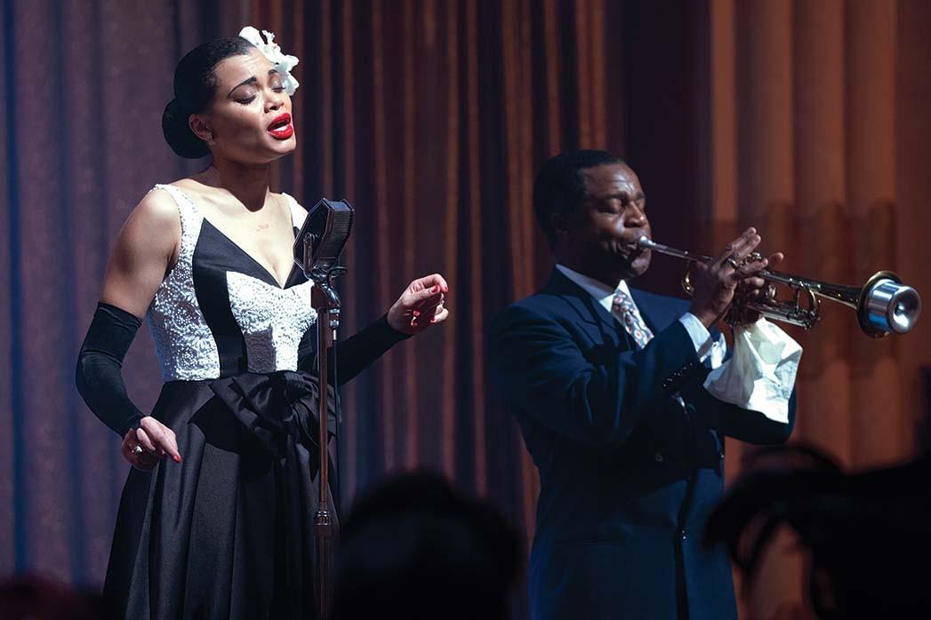 Andra Day und Kevin Hanchard in Lee Daniels 'The United States gegen Billie Holiday, die Fudge produzierte.