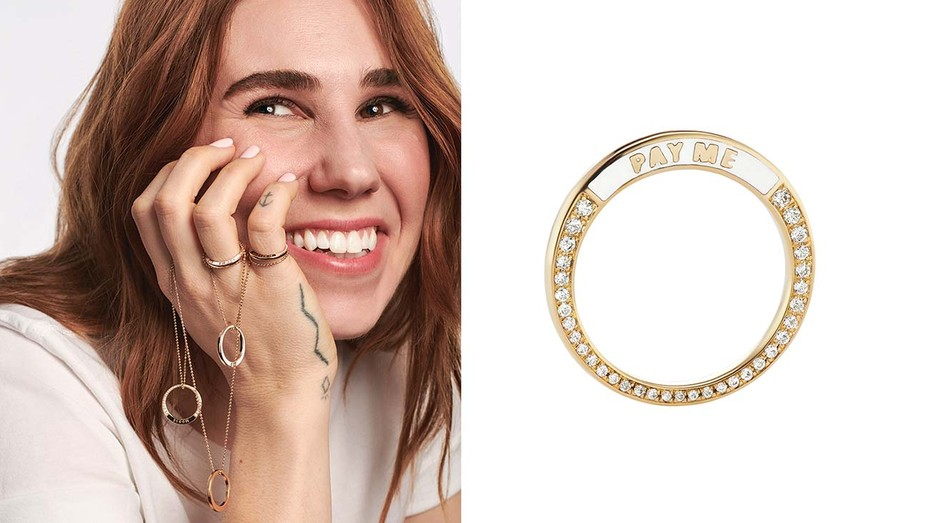 Zosia Mamet Launches Jewelry Collection With Sophie Ratner
