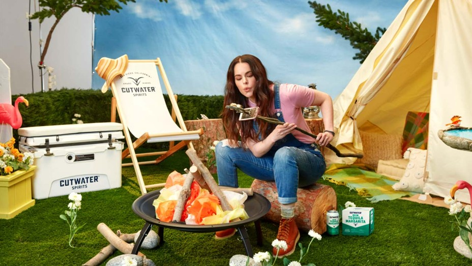 Emily Hampshire in Cutwater Spirits Campaign