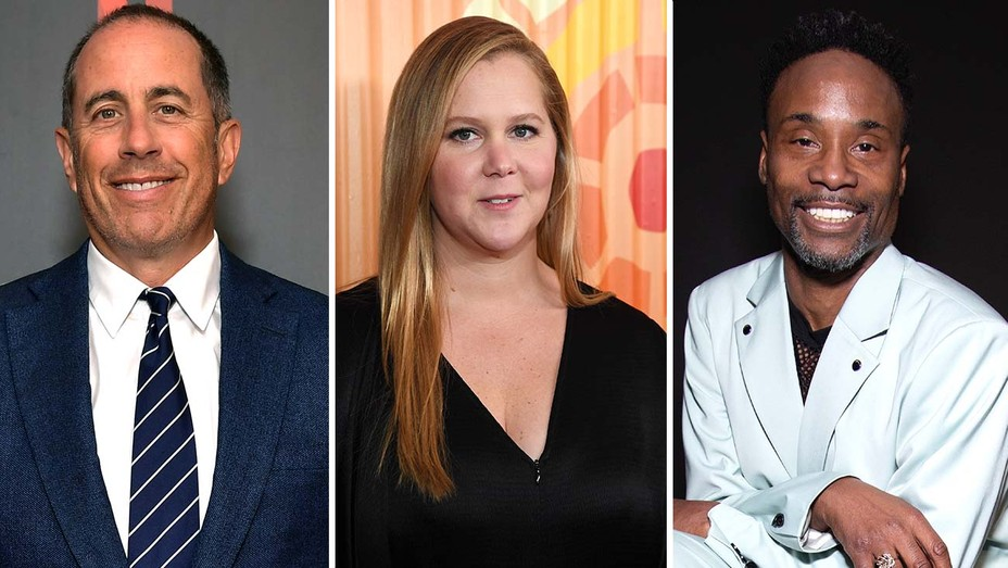 Jerry Seinfeld, Amy Schumer and Billy Porter