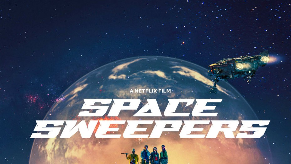 'Space Sweepers' poster