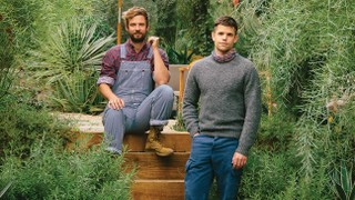 How Designer John Sharp Created an Outdoor Oasis for 'Ratched' Actor Charlie Carver