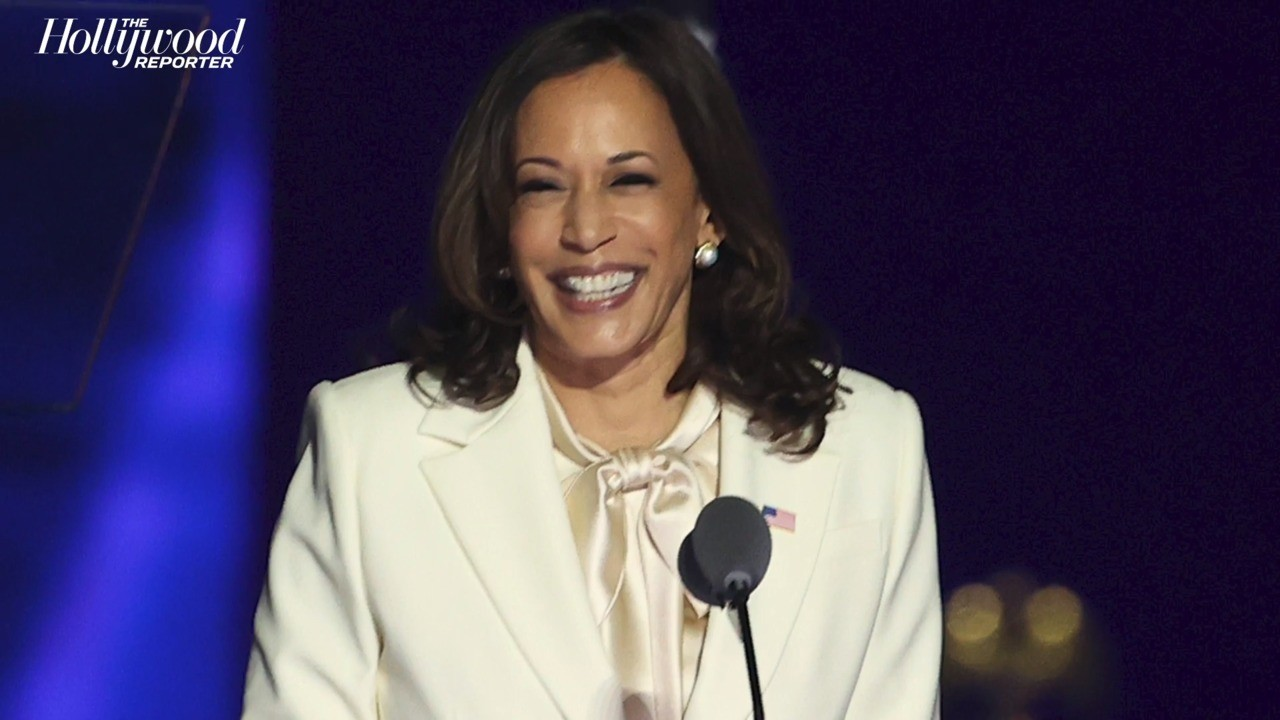 Vogue Set to Release Limited-Edition Kamala Harris Cover | THR News