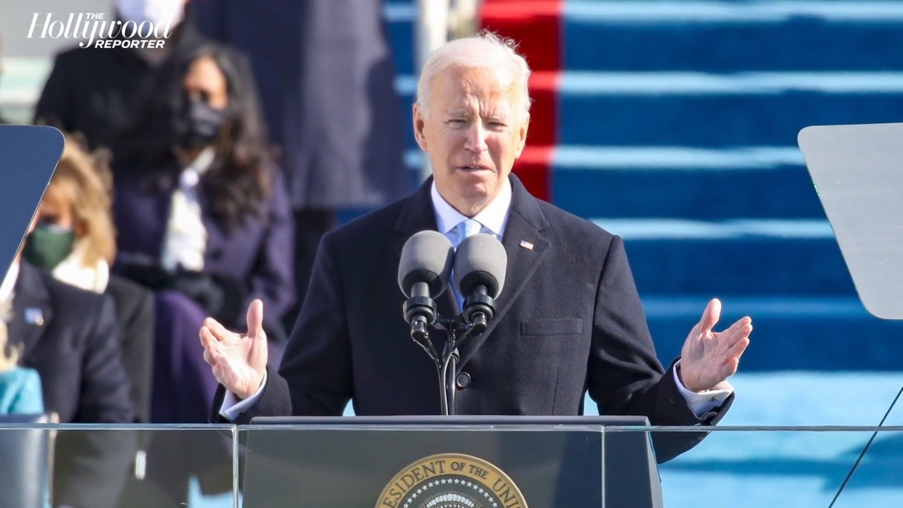 President Joe Biden Offers Message of Healing, Hope During Inaugural Address | THR News