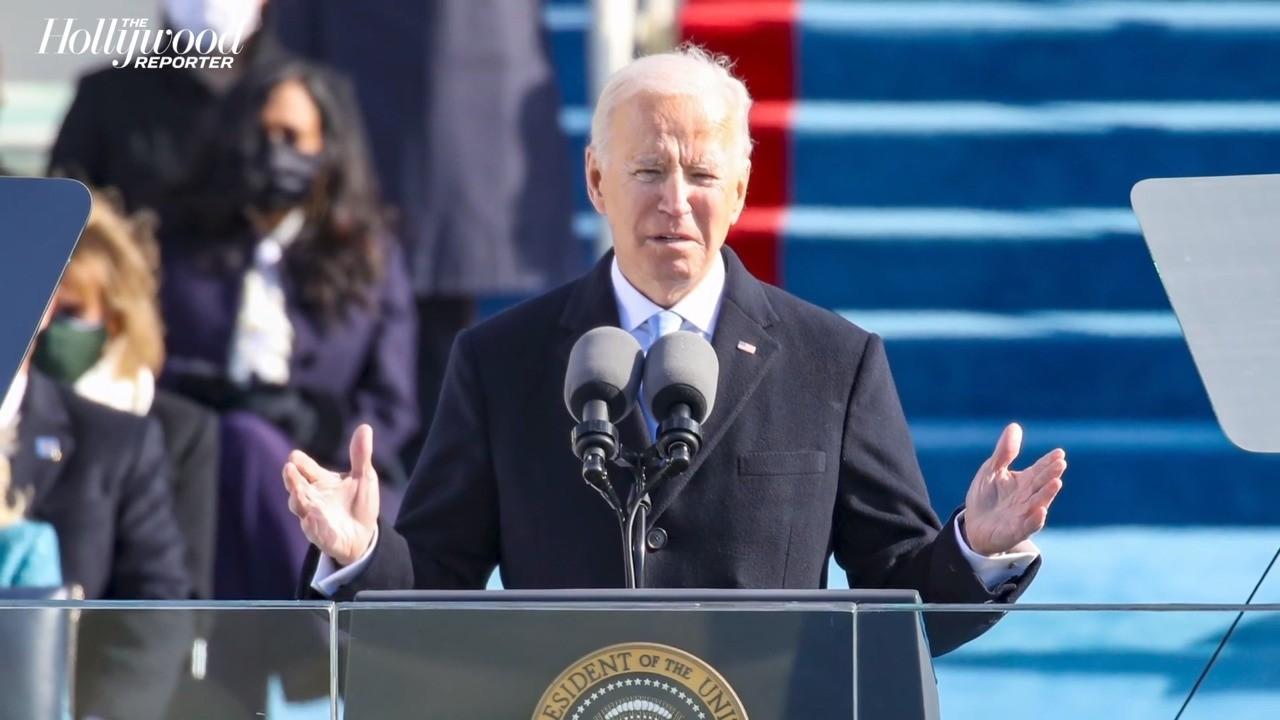 President Joe Biden Conveys Message of Healing, Hope During Inaugural Address