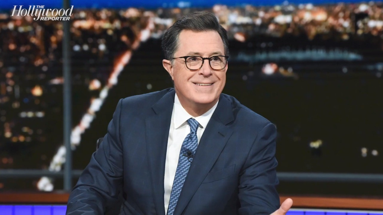 "Stephen Colbert on Inauguration: ""Joyful Occassion"" & ""Enormous Relief"" 